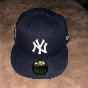 Yankees official on-field 7 1/8 inch fitted cap
